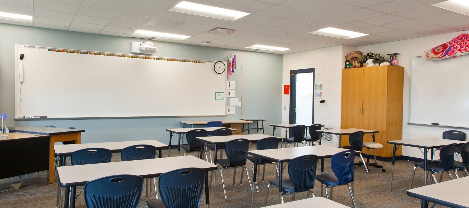 Pleasant Valley Junior High School classroom