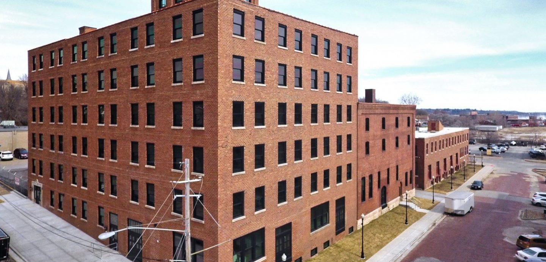 Pershing Lofts exterior