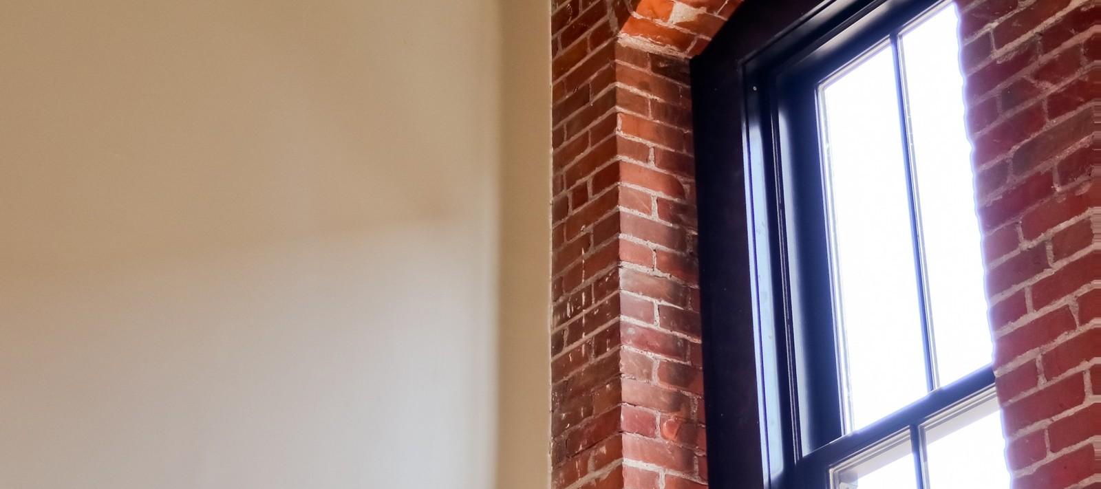 Pershing Lofts window detail