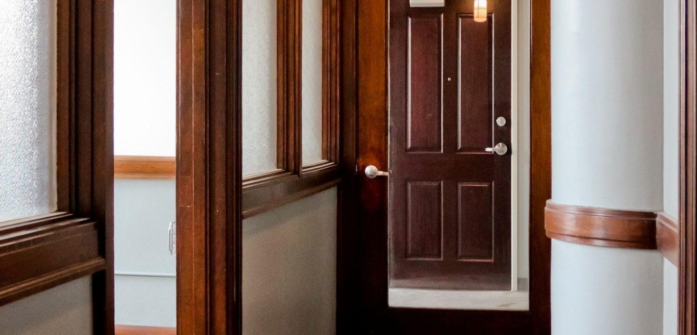 Pershing Lofts hallway view