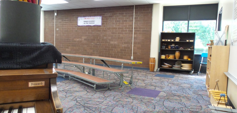 Truman Elementary music room
