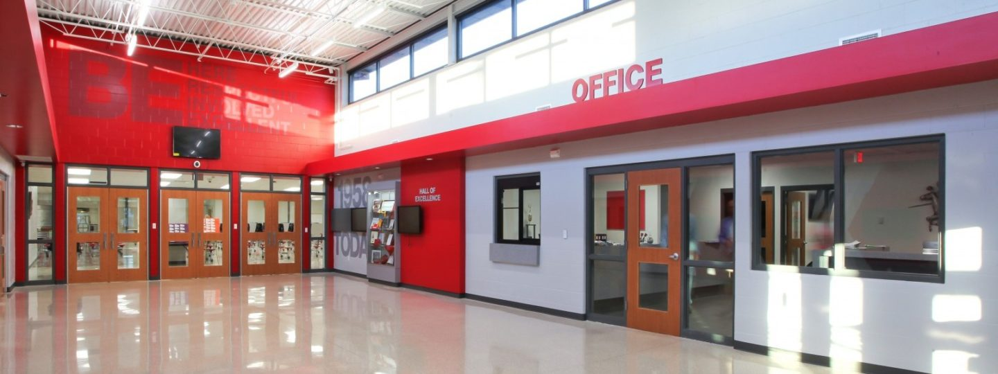 North Scott High School offices