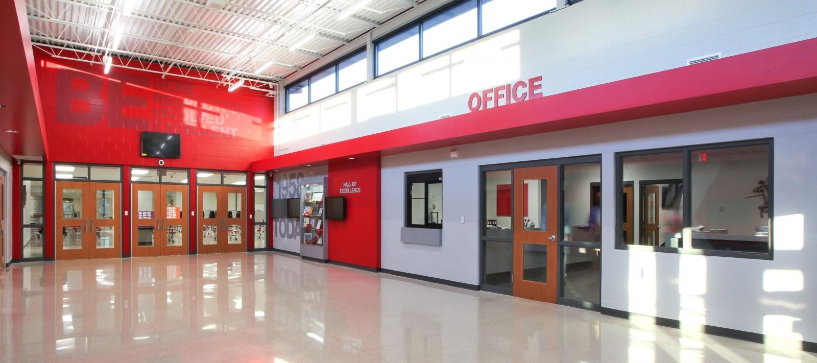 North Scott High School offices