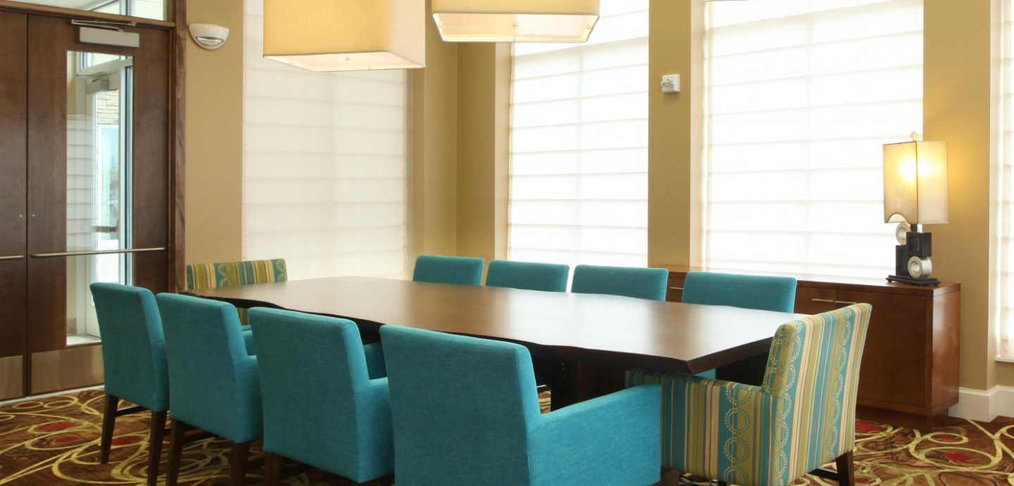 HIlton hotel conference table