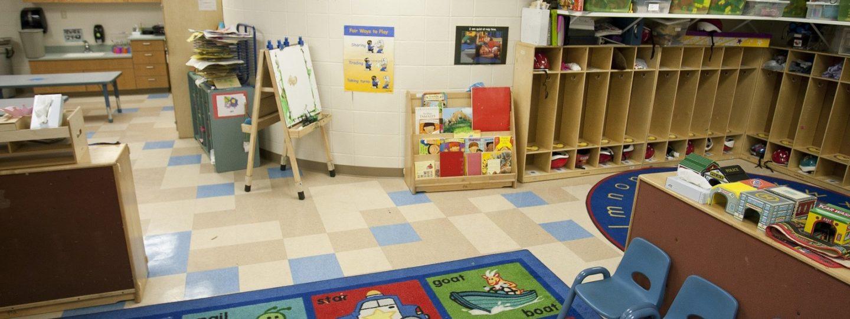 Children's Village playroom