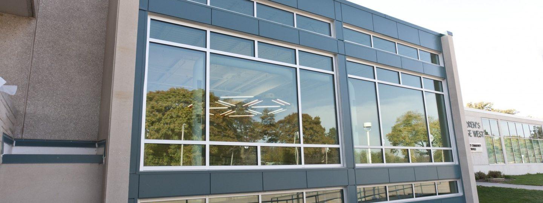 Children's Village exterior windows
