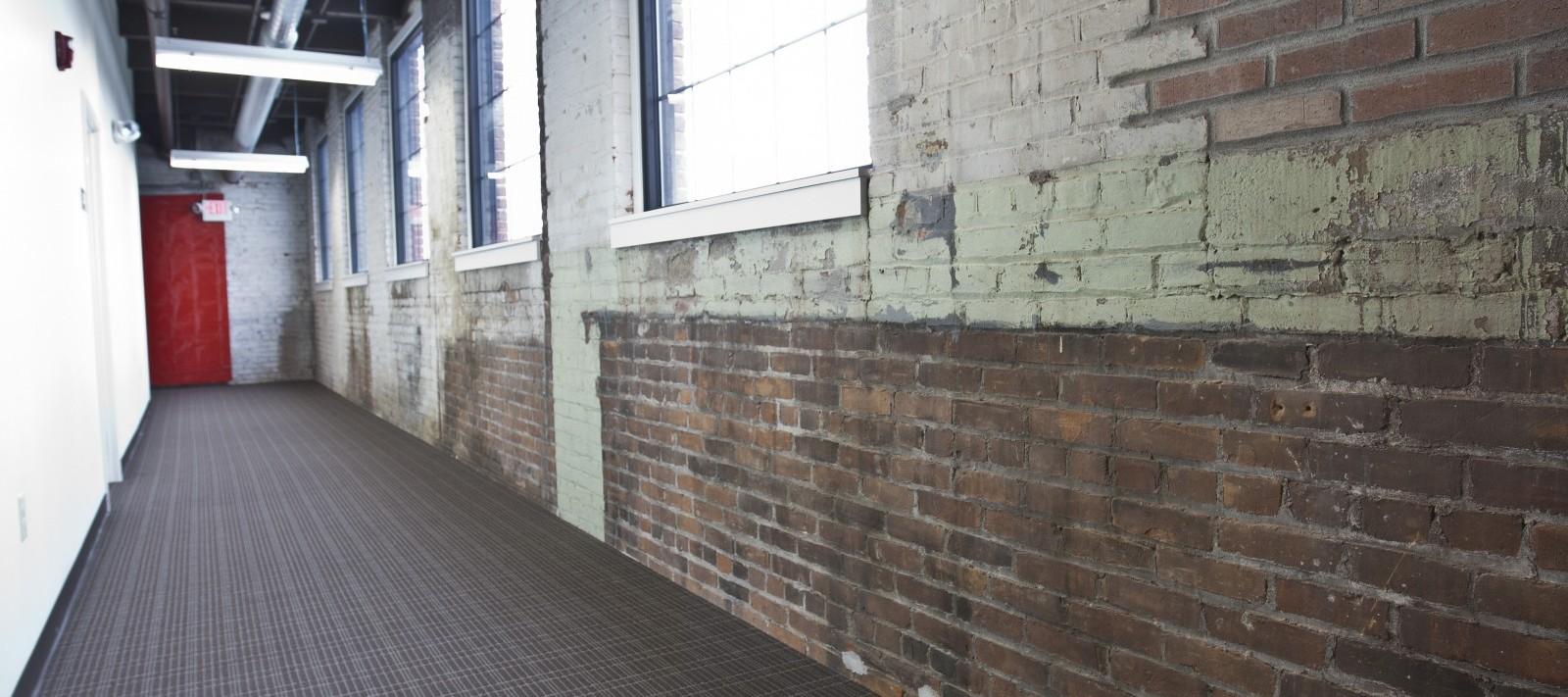 Jackson Square apartments hallway