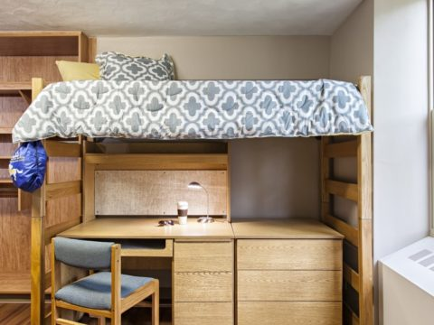Westerlin Hall dorm room