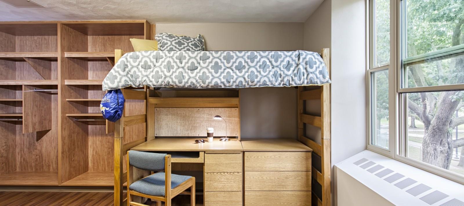 Westerlin Hall dorm room
