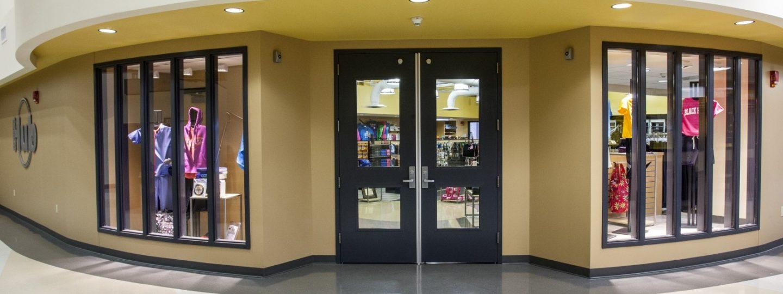 Black Hawk College bookstore entrance