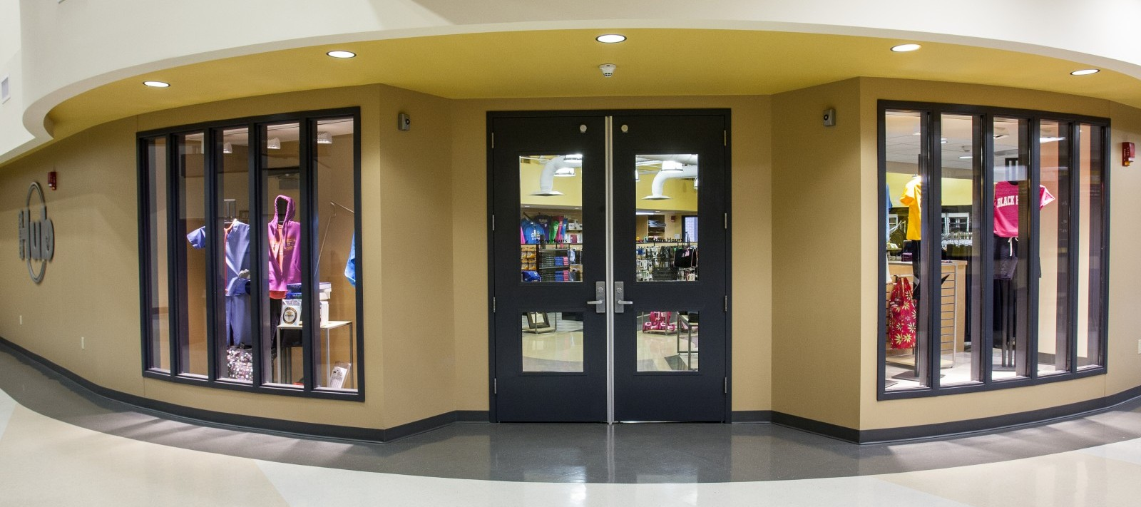 Black Hawk College bookstore entrance