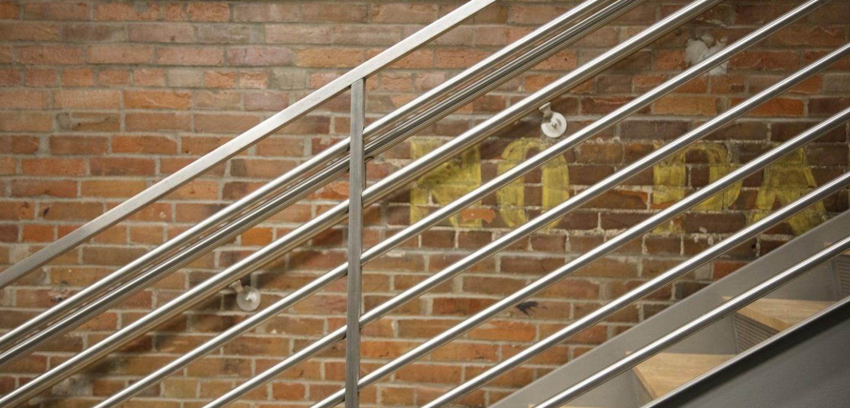Davenport Fire Department main stairwell