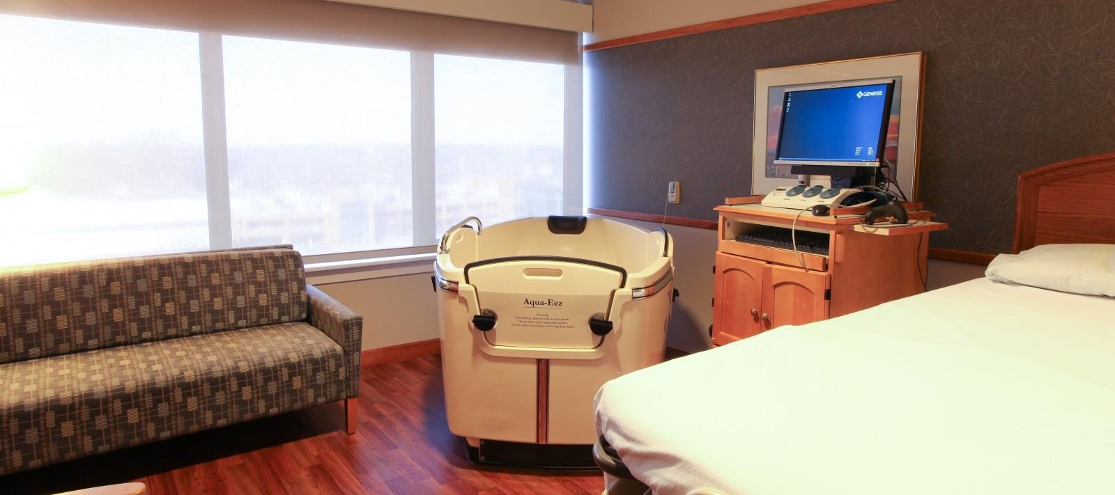 Genesis Birth Center water bath unit
