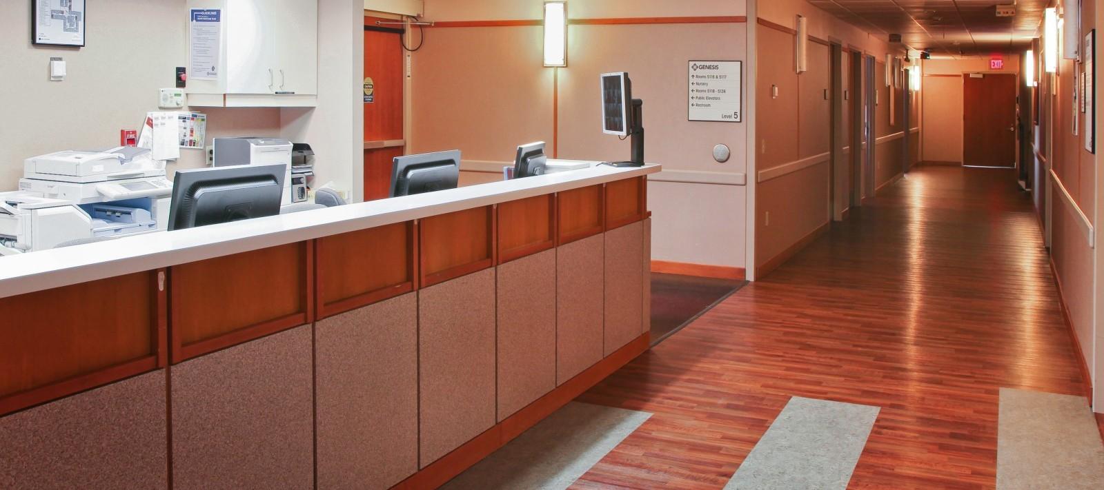 Genesis Birth Center nurse's station