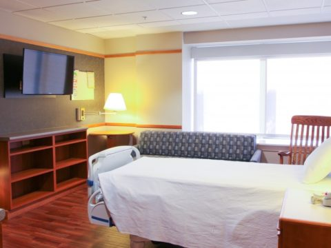 Genesis Birth Center hospital room
