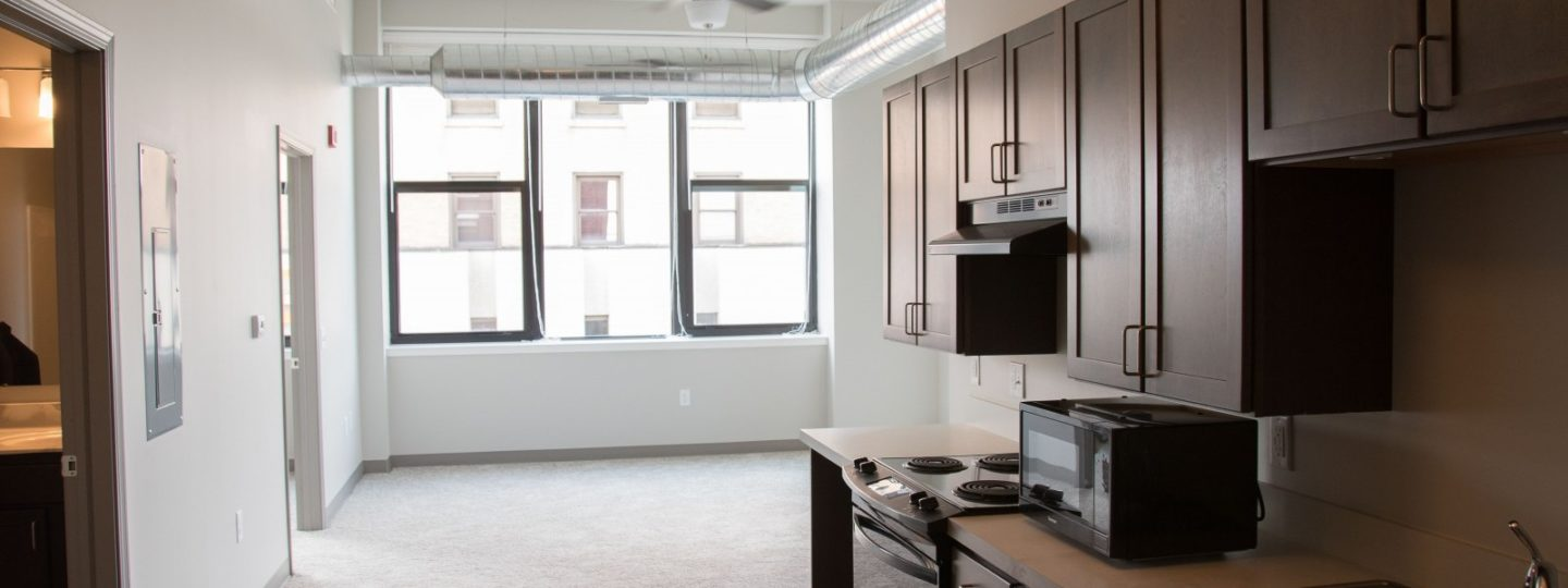Lawrence lofts apartment interior