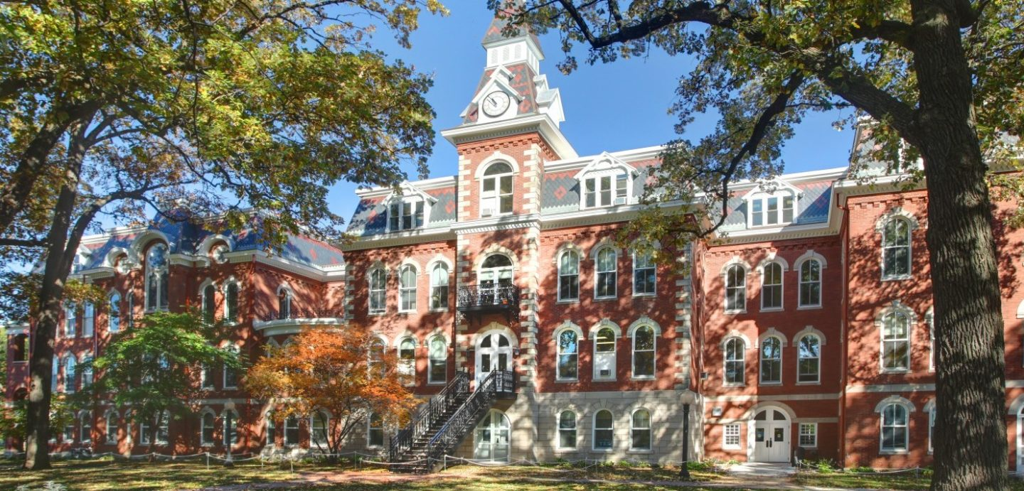 Ambrose Hall full front view