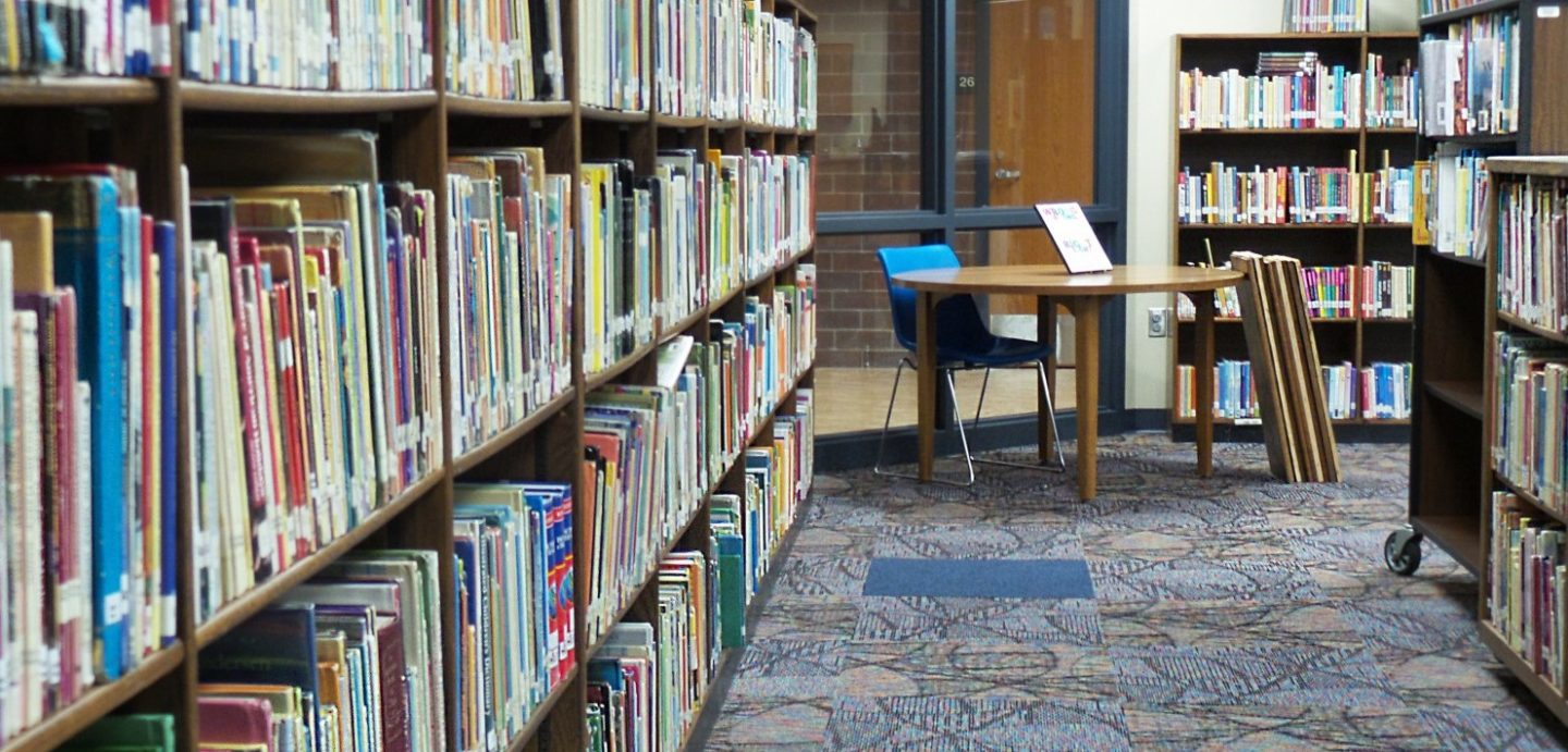 Truman Elementary library stack
