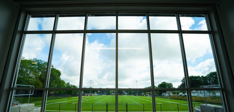 St. Ambrose, St. Vincent interior sports observation building