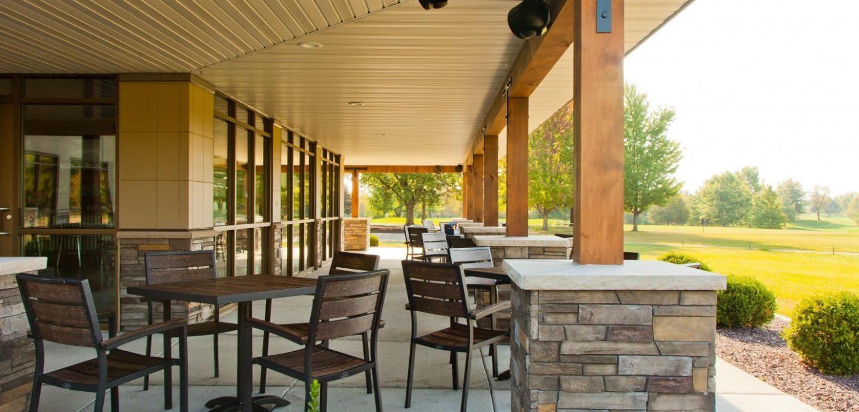Oak Run Golf Course exterior patio