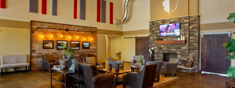 Oak Run Golf Course lobby lounge