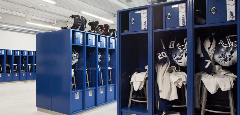 St. Ambrose, St. Vincent interior locker room