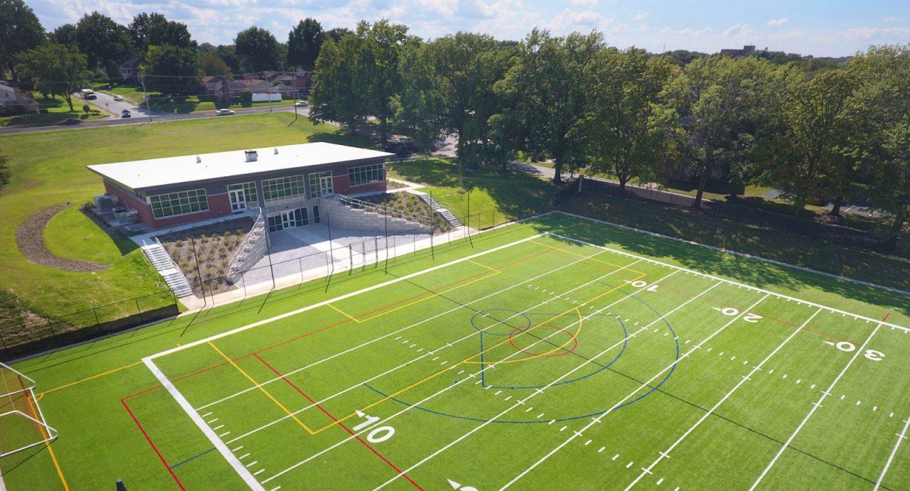 St. Ambrose, St. Vincent outdoor field