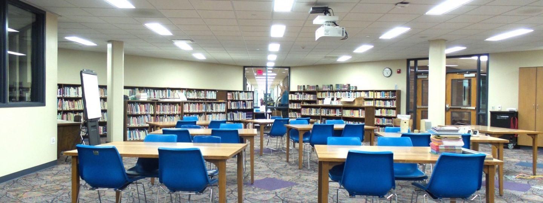 Truman Elementary media room