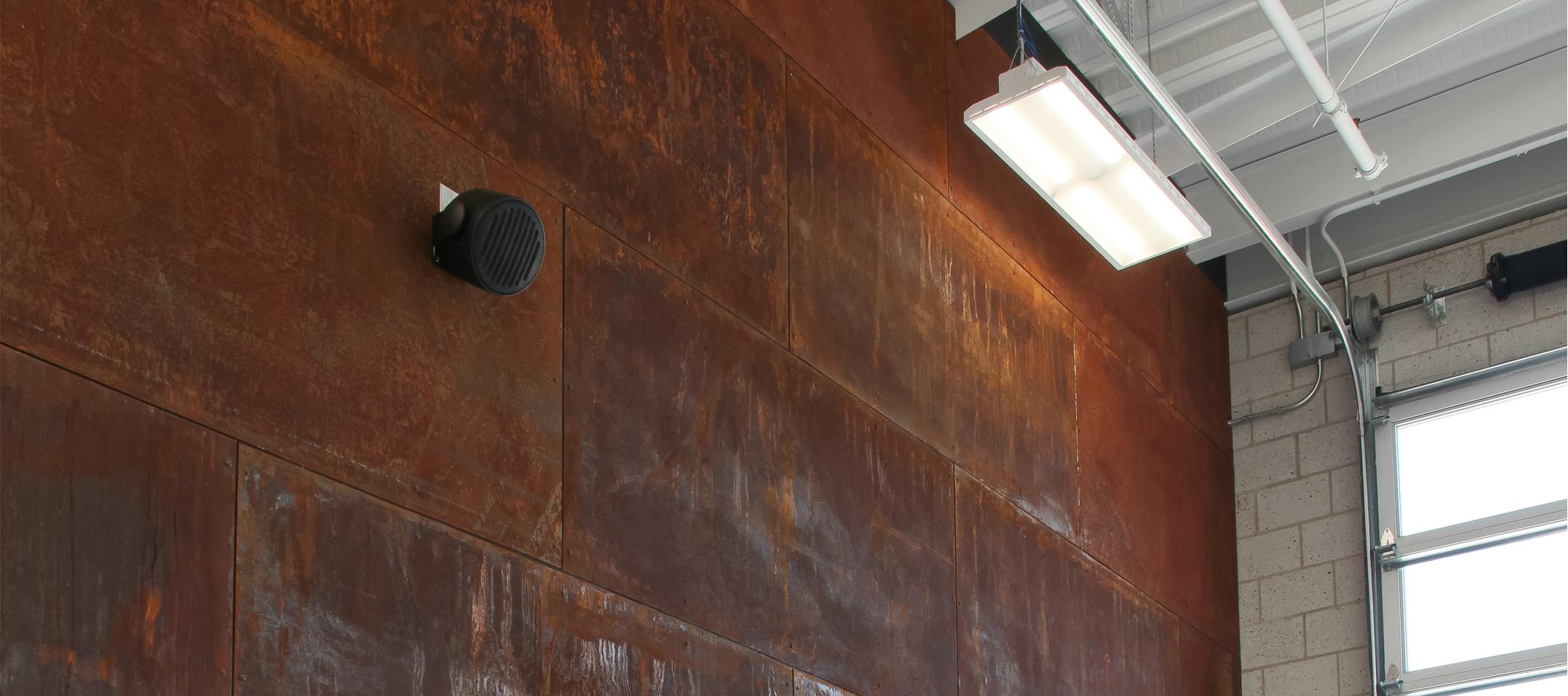 header image of garage wall paneling
