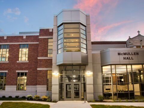St. Ambrose University recently renovated McMullen Hall