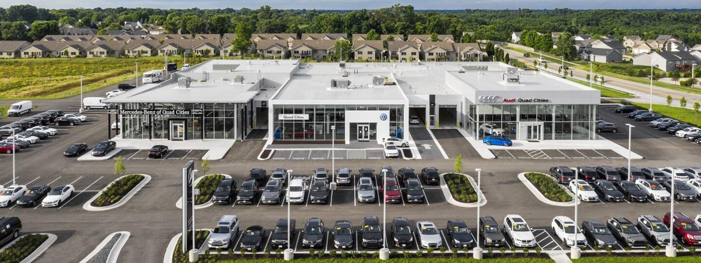 Smart Luxury Motors Aerial View