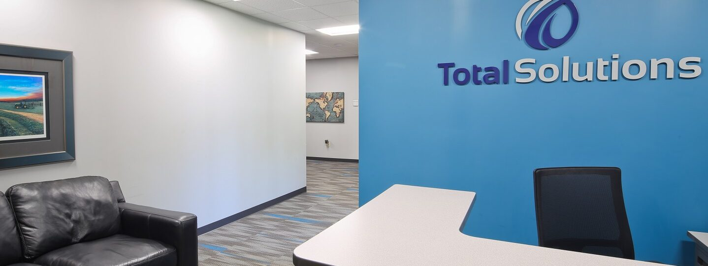 Total Solutions Office Renovation_Entrance