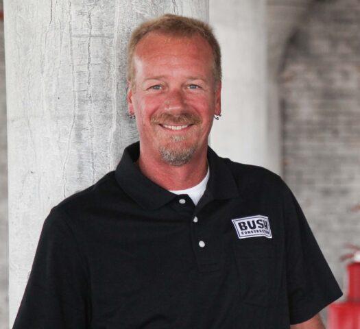 Chuck Geyer, Bush Construction Superintendent II